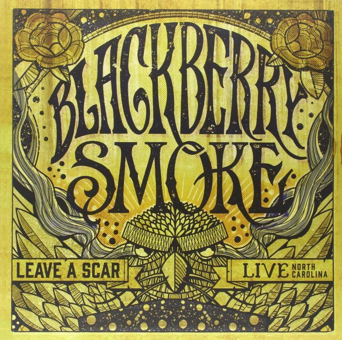 Leave a Scar: Live in North Carolina (White Vinyl)