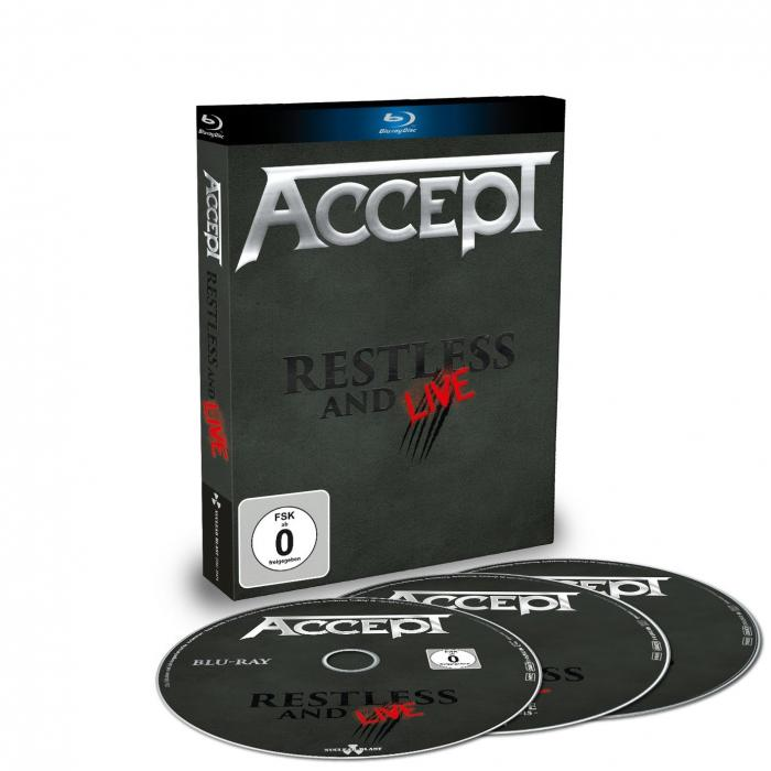 Restless and Live [2CD/Blu-ray]
